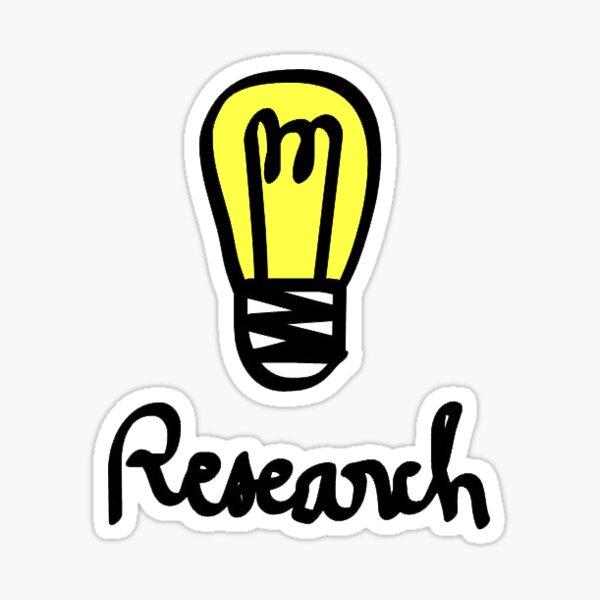 Research Sticker