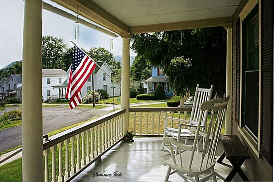 Small Town USA ~ Fourth of July by SummerJade