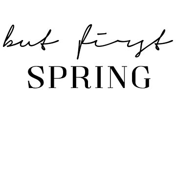 But first spring by PCollection
