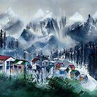 Manali 3 Himalaya by Anil Nene