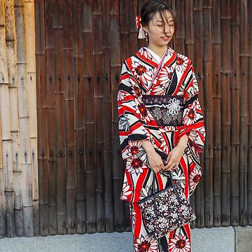 Japanese Woman in traditional Kimono. Photographed in Kyoto, Japan  by PhotoStock-Isra