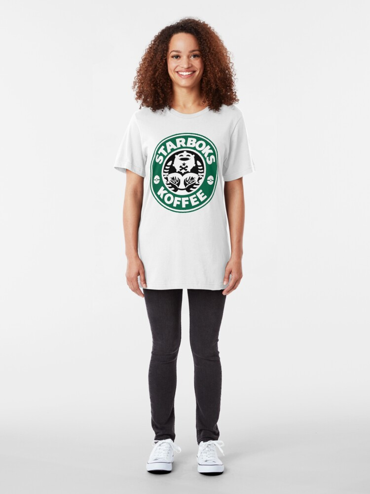 Alternate view of Starboks Koffee 2.0 Slim Fit T-Shirt