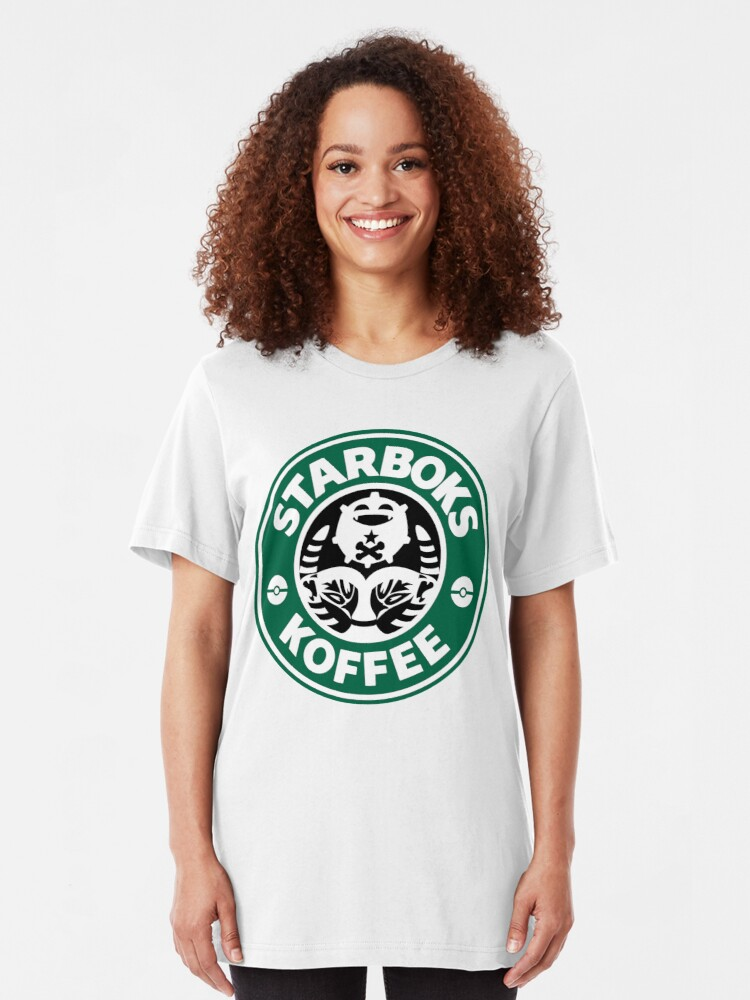 Alternate view of Starboks Koffee 2.0 Slim Fit T-Shirt