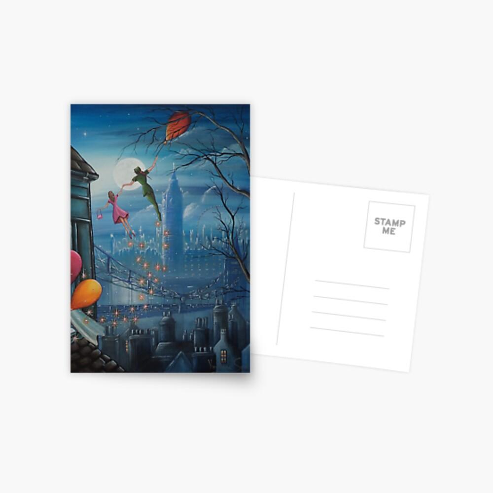 Corinnas Geburtstagsflug Postkarte