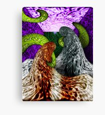 Am I Suspended in Gaffa? Canvas Print
