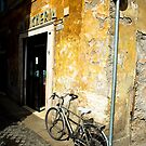 Bike In Piazza Margana by rorycobbe