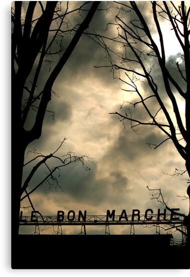 Le Bon Marché Paris France Photography on Sale by Toby Davis