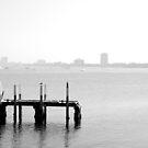 Pier Remnant I by JaredWoods