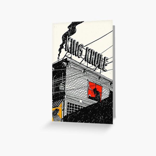 King Krule Poster - Greeting Card