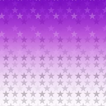 Stars pink white by Anteia