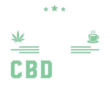 Running On Coffee And CBD Oil by rockpapershirts