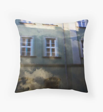 Nomen omen Throw Pillow