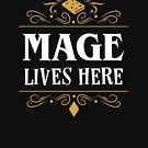 A Mage Lives Here Classes Series by pixeptional