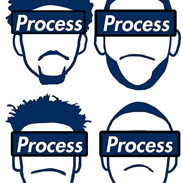 4 in 1 Trust The Process Stickers by xavierjfong