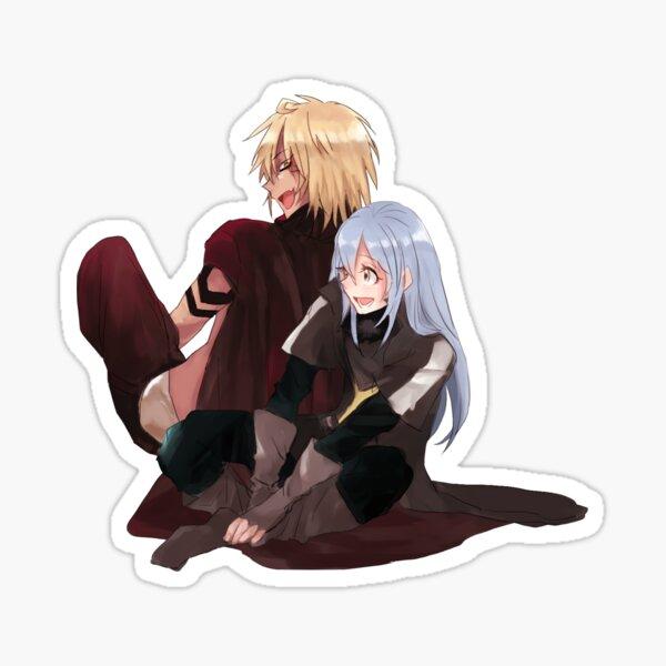 Veldora and Rimuru Tempest Sticker