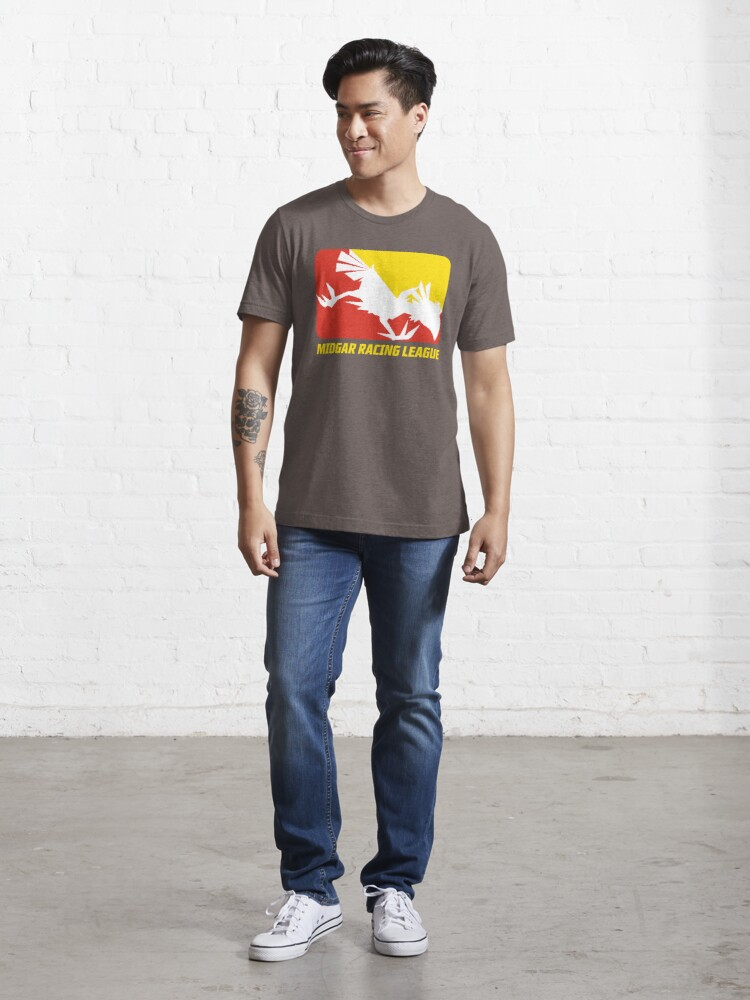 Alternate view of Midgar Racing League Essential T-Shirt