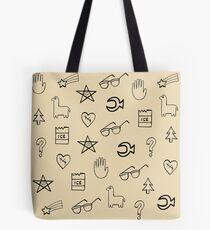 Gravity Falls Wheel Symbols Tote Bag