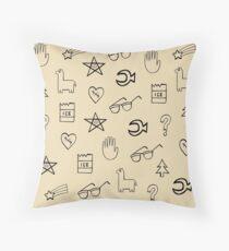 Gravity Falls Wheel Symbols Throw Pillow