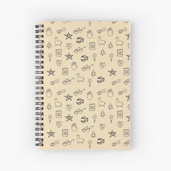 Gravity Falls Wheel Symbols Cuaderno de espiral
