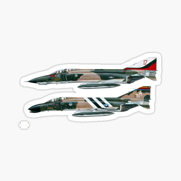 F4 Phantom Sticker