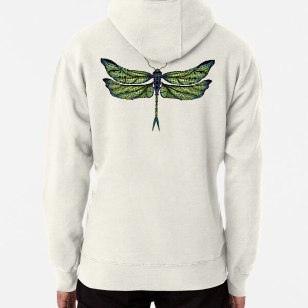 Dragonfly - Light Colours Pullover Hoodie