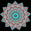 PINK Mandala  by Kayden DiGiovanni