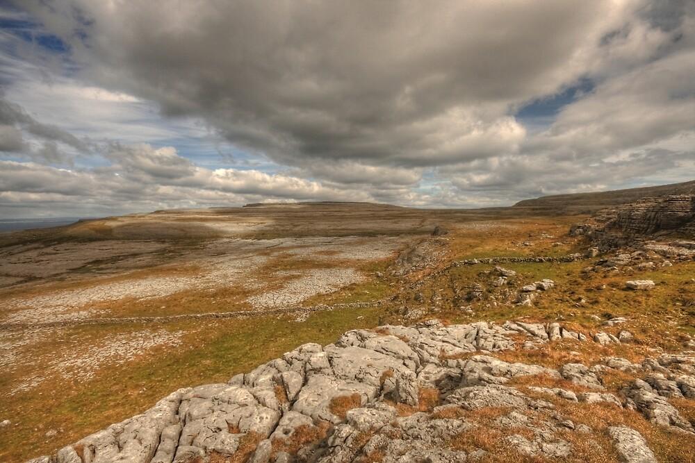 Scenic Burren Landscape by John Quinn