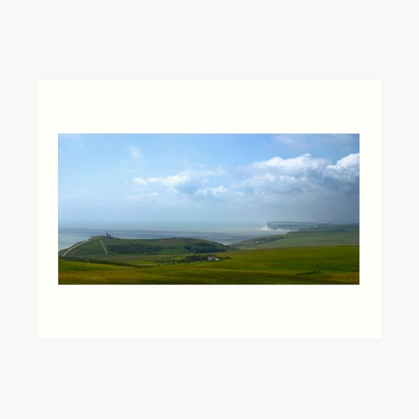 Beachy Head, Great Britain Art Print