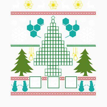 Chemist Tree Shirt Oh Chemistry Tree Christmas T-Shirt by Tigarlily