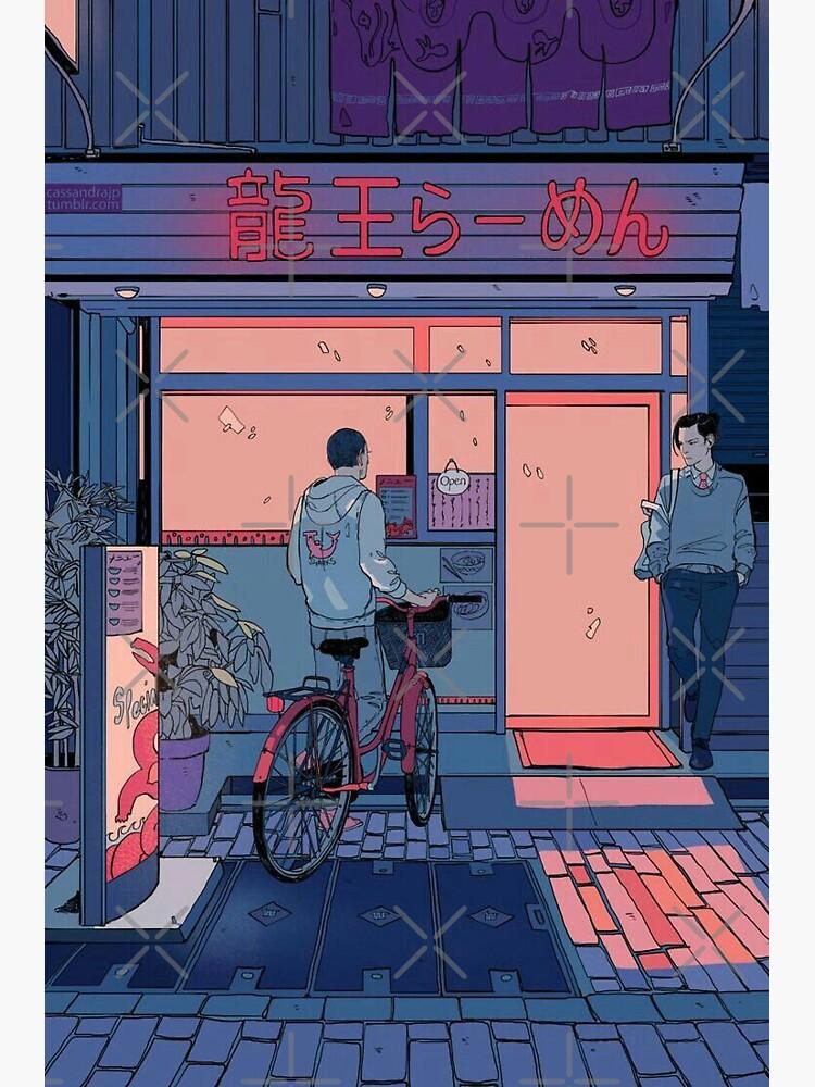 Lofi Anime Art by seekahsoul