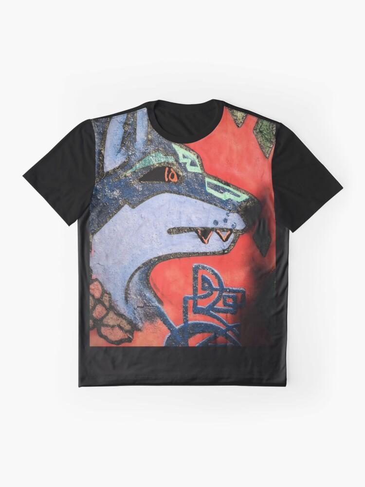 Alternative Ansicht von WOLF GRAFITTI Grafik T-Shirt