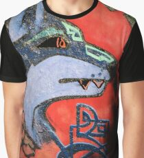 WOLF GRAFITTI Grafik T-Shirt