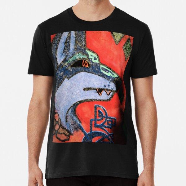 WOLF GRAFFITI Premium T-Shirt