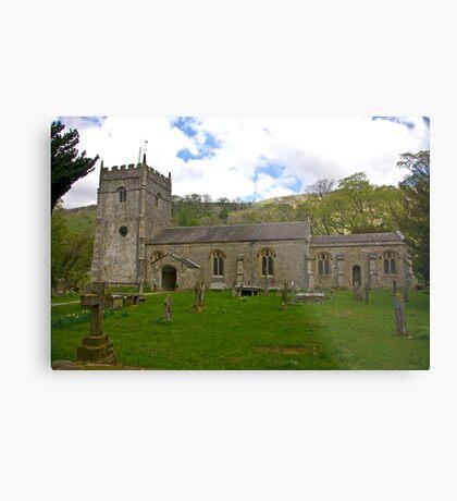 St Oswald's Church - Arncliffe Metal Print
