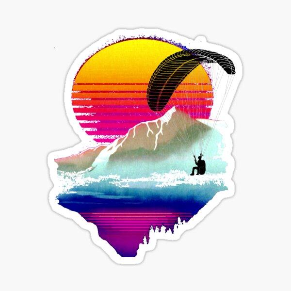 La passion du parapente Sticker