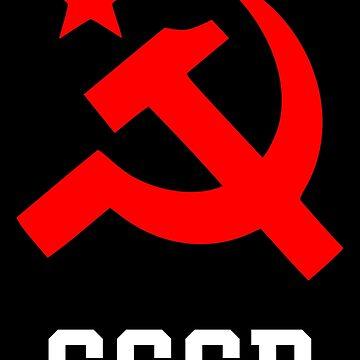 CCCP Hammer Sickle Communist by Chocodole