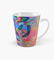 Abstract The Lobster Tall Mug