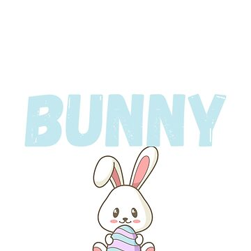 Cutest Bunny Adorable Easter Bunny / Rabbit by TrendJunky