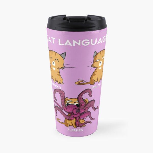 Cat Language - Flerken Travel Mug