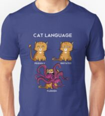Cat Language - Flerken Slim Fit T-Shirt