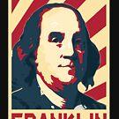 Benjamin Franklin Retro Propaganda by idaspark