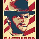 Clinte Eastwood Retro Propaganda by idaspark