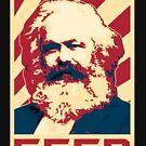 Karl Marx Retro Propaganda by idaspark
