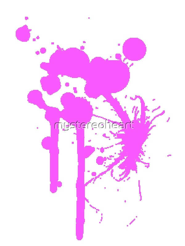 """Blood Splatter"" Art Prints by mystereoheart   Redbubble"