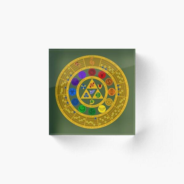 Wheel of the Hero of Time Acrylic Block