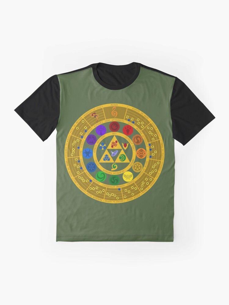 Alternate view of Wheel of the Hero of Time Graphic T-Shirt