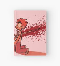 Crimson Game Over Hardcover Journal