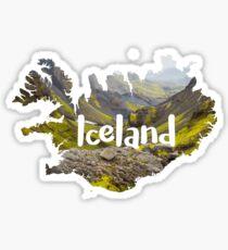 Iceland travel sticker Sticker