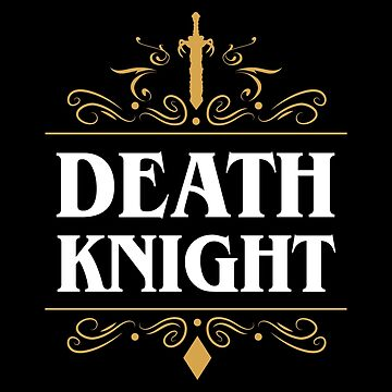 Emblema del caballero de la muerte de pixeptional