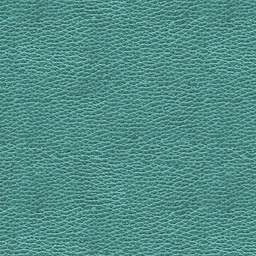 Turquoise Faux Vegan Leather Look Pattern by jollypockets